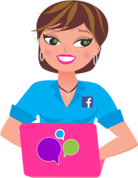 Dawn Hartwell, PDX Social Media Expert at My Social Media Girl | WiseIntro Portfolio